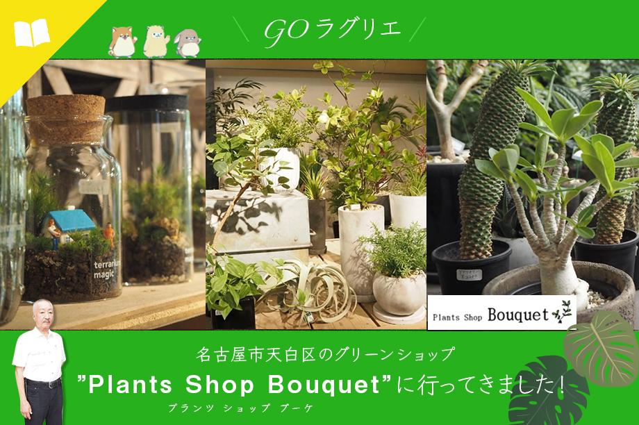 名古屋市天白区のプランツショップブーケ (Bouquet) に行ってきました!